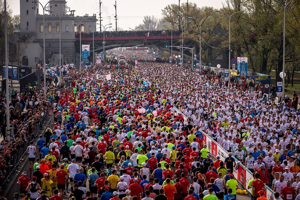 Wolontariat podczas ORLEN Warsaw Marathon 2018