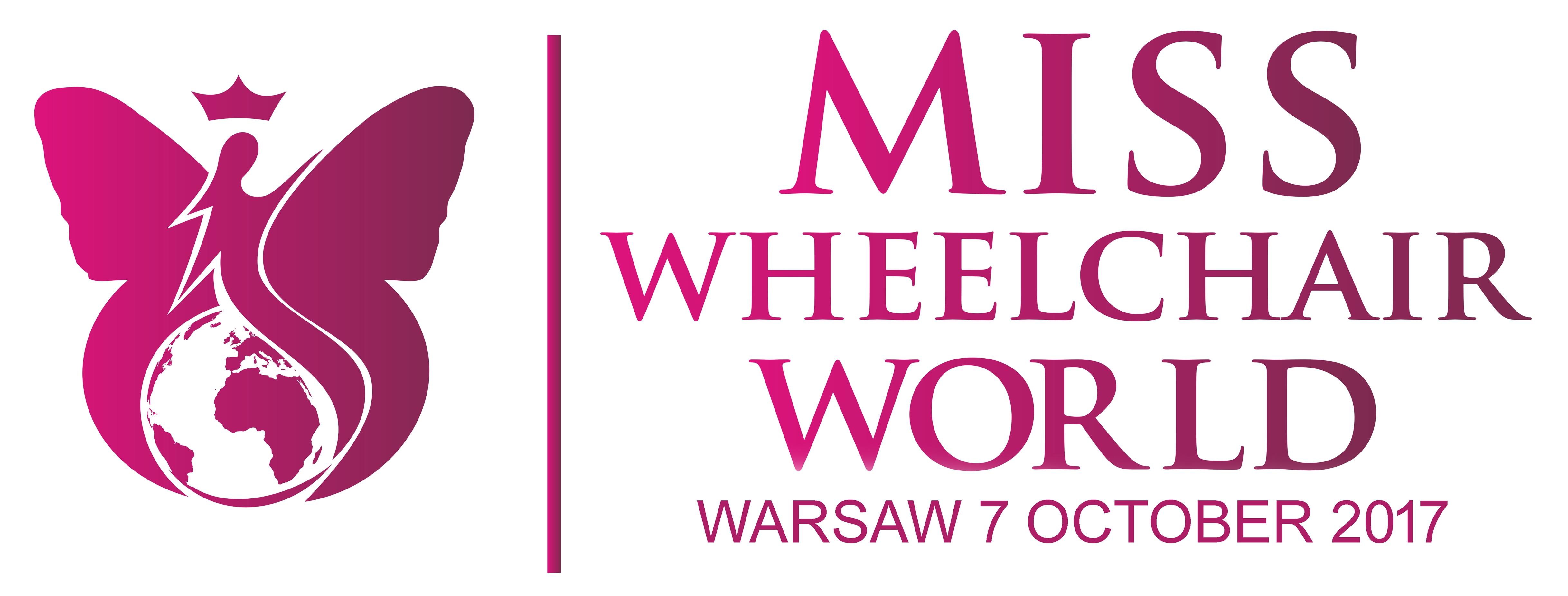 Asystent osoby z niepełnosprawnością podczas wyborów Miss Wheelchair World