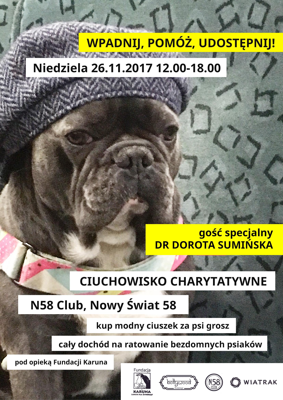 Akcja charytatywna na rzecz zwierząt (26.11)