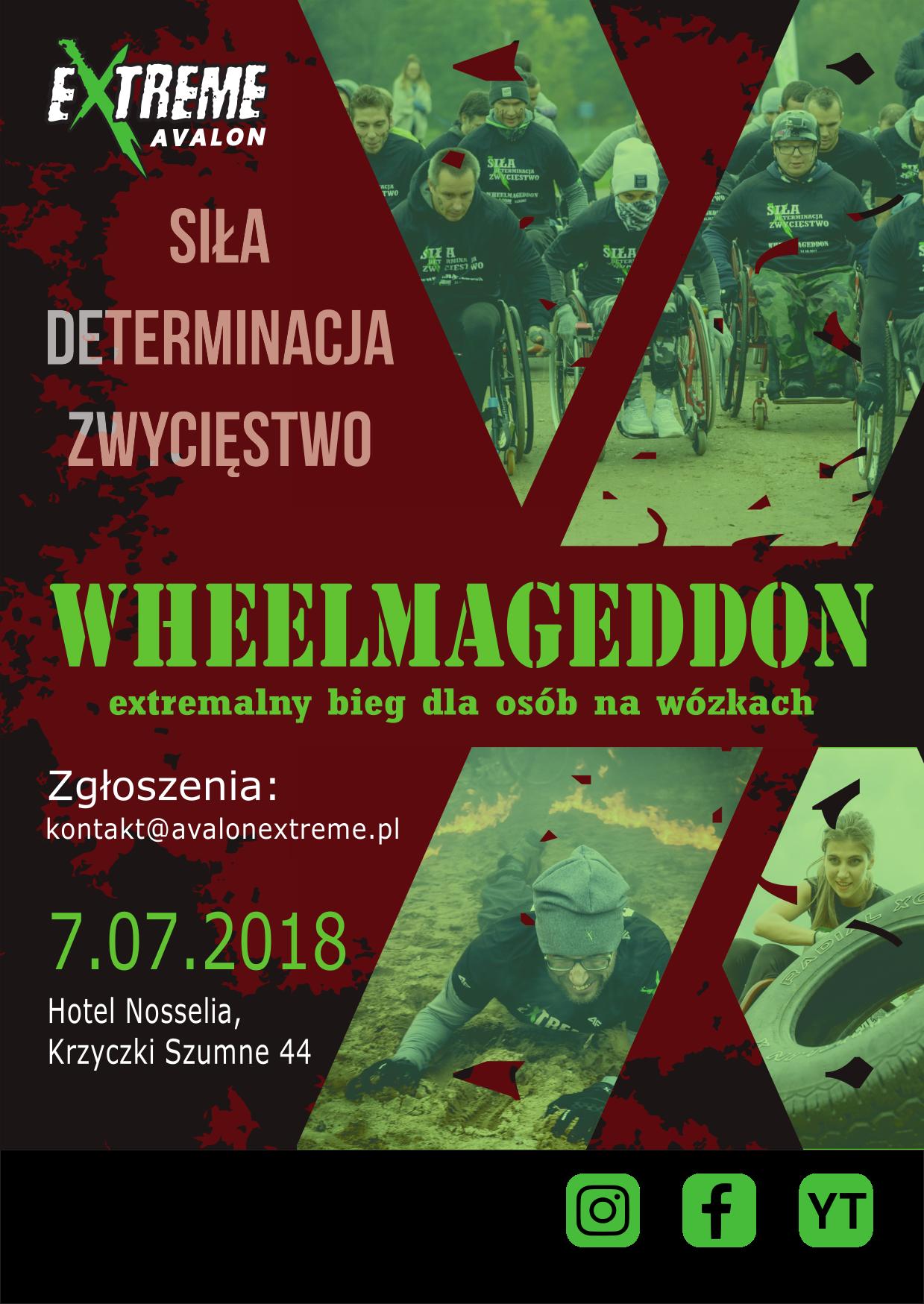bieg ekstremalny WHEELMAGEDDON 2018