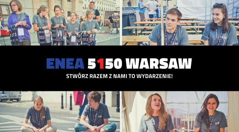 Zostań Wolontariuszem podczas Enea 5150 Warsaw Triathlon