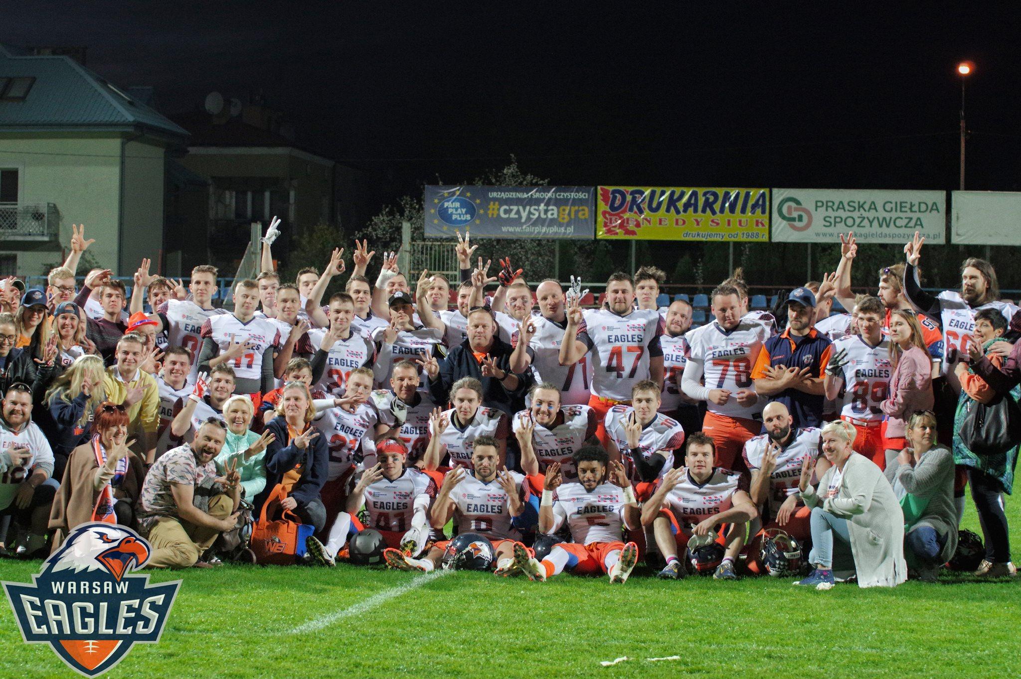 Wolontariusze - Warsaw Eagles